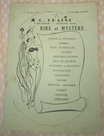 [ JOUETS, JEUX ] Catalogue 1960 Farces & Attrapes + Magie + 4 Pp Films érotiques - RARE Et Surprenant ! - Autres