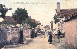 03 - Allier - SAINT GERMAIN De SALLES - Rue Principale - Carte Toilée - France