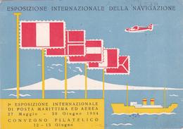 CPA  ITALIA - Esposizione Internazionale Della Navigazione - Napoli 1954 - Beau Cachet - Expositions