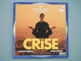 LASERDISC - PAL VF - La Crise - Vincent Lindon, Patrick Timsit - Autres Collections