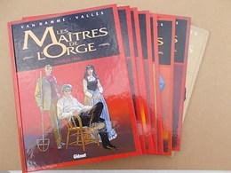 LA  SÉRIE COMPLÈTE DES 8  BD   '' LES MAÎTRES DE L ORGE + 1 EX - LIBRIS - Maitres De L'orge, Les