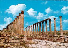 1 AK Jordanien Jordan * Säulenstraße Im Antiken Jerash (auch Gerasa) - Eine Antike Römische Stadt * - Jordanien