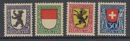 Switzerland 1924 Pro Juventute 4v ** Mnh (44120) - Ongebruikt