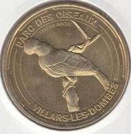 MONNAIE DE PARIS 01 VILLARS-LES-DOMBES Parc Des Oiseaux – Coq De Roche - 2014 - Monnaie De Paris