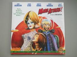 LASERDISC - PAL VF - Mars Attacks! - Tim Burton - Jack Nicholson, Glenn Close, Pierce Brosnan - Autres Collections