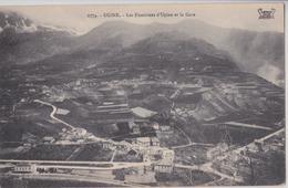 UGINE - Les Fontaines D'Ugine Et La Gare - Ugine