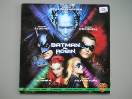 LASERDISC - PAL VF - BATMAN Et ROBIN - Arnold Schwarzenegger - George Clooney - Autres Collections