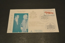 JP2358- KimCover - 1980- Joannes Paulus PP II - PW116- Historic Documents Of Vatican City - Gen. Antonio Ramalho Eanes - Papes