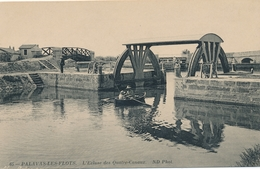 CPA - France - (34) Hérault - Palavas Les Flots - L'Ecluse Des Quatre-Canaux - Palavas Les Flots