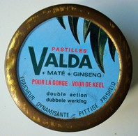 Boite Pastilles VALDA Maté Ginseng Ca. 1980. - Scatole