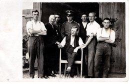 Gruppenfoto Militär Männer 2.WK - Leider Unbekannt - Fotografie