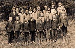 Schulfoto Klassenfoto, Lehrer Und Kinder - Leider Unbekannt - Fotografie