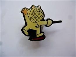 PINS JO  Jeux Olympiques Barcelone 1992 Mascotte Cobi  Escrime / 33NAT - Jeux Olympiques