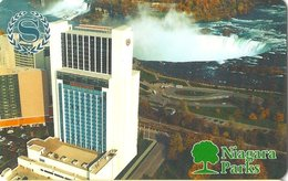 CANADA KEY HOTEL  Sheraton Fallsview - Niagara Park - Cartes D'hotel