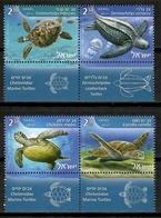 Israel 2016 / Reptiles Turtles MNH Tortugas Schildkröte / Cu14326  4-27 - Tartarughe