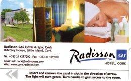 IRLANDA KEY HOTEL  Radisson SAS Hotel Cork - - Hotel Keycards