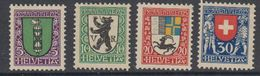 Switzerland 1925 Pro Juventute 4v  ** Mnh (44121) - Ongebruikt