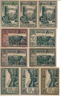 Austria Notgeld Lot / Set - KLAUS DIFFERENT COLORS X 10 - Oesterreich