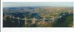 12 Millau Viaduc Photo Daniel Jamme Vue Panoramique Grand Format  29/11 Neuve - Millau