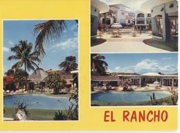 Haiti El Rancho Hotel - 3 Photo's On Card - Haiti