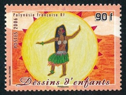 POLYNESIE 2006 - Yv. 797 **   Faciale= 0,76 EUR - Danse, Dessin D'enfant  ..Réf.POL24221 - Französisch-Polynesien
