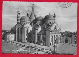 CARTOLINA VG ITALIA - PADOVA - Basilica Di S. Antonio - CARTITAL - 10 X 15 - 1954 AMB MILANO TRIESTE - Padova