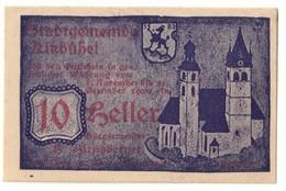 Austria Notgeld - KITZBUHEL 10 HELLER - Oesterreich