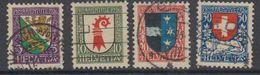 Switzerland 1926 Pro Juventute 4v Used (44121C) - Pro Juventute