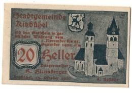 Austria Notgeld - KITZBUHEL 20 HELLER - Oesterreich