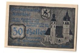 Austria Notgeld - KITZBUHEL 50 HELLER - Oesterreich
