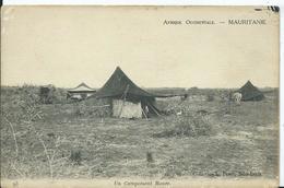 MAURITANIE - Un Campement Maure (tache Au Dos ) - Mauritanie