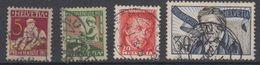 Switzerland 1927 Pro Juventute 4v Used (44122) - Pro Juventute