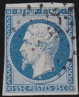 France  .   Yvert  .    10       .     O      .    Oblitéré   .  /   .   Cancelled - 1853-1860 Napoleon III