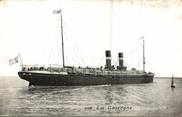 BATEAU  LA GASCOGNE - Steamers