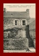 Paimpol * La Maison De Pierre Loti  *  Ed A-b  Scan Recto Et Verso - Paimpol