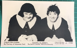 Laurel & Hardy ~ The Devil's Brother 1933 (Fra Diavolo) - Actors