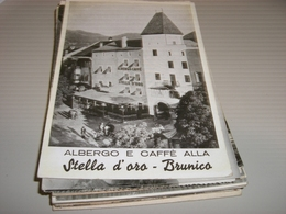CARTOLINA ALBERGO E CAFFE' ALLA STELLA D'ORO -BRUNICO - Bolzano