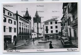 Portugal Madeira Funchal Square 1950s Foto Figueirias Postcard - Madeira