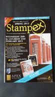 UK (2013). SPRING STAMPEX 2013 - The British National Stamp Exhibition. Catalogue 62 Pages - Briefmarken