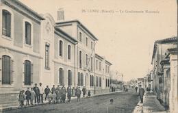 CPA - France - (34) Hérault - Lunel - La Gendarmerie Nationale - Lunel