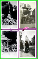 61 Orne ARGENTAN 4 Photo De La Rue Beigle Après Les Bombardement De 1944 Maison Theault - Reproduction Photo - Reproducciones