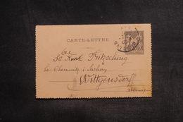FRANCE - Entier Postal Type Sage Pour L 'Allemagne En 1909 - L 38546 - Postal Stamped Stationery