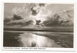 W4226 Nordseeheilbad Cuxhaven - Scheidende Sonne Uberin Wattenmeer / Non Viaggiata - Cuxhaven