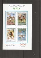 Syrie - JO De Barcelone -1992 ( BF 47 XXX -MNH) - Syria