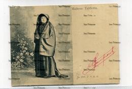 Malta 1900s Court Size Postcard Stamp Removed Maltese Taldetta No.3717 PVKZ - Malta