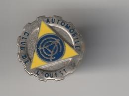 Pin's -- AUTOMOBILE CLUB DE L'OUEST - Pin's