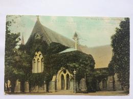 AUSTRALIA - Victoria - St. Mary`s Church Caulfield - 1906 - Australia