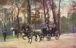 """Illustrateur  """"Paris Bois De Boulogne """" RV TUCK'S - Peintures & Tableaux"""