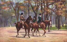 """Illustrateur  """"Paris Bois De Boulogne """" 2 RV TUCK'S - Peintures & Tableaux"""