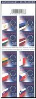Boekje 44** / Carnet Drapeaux Des Nouveaux Pays De L'Union Européennes - 3293/02 Vlaggen Van 10 Europese Unie-landen MNH - Booklets 1953-....
